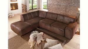 home affair sofa home affaire polsterecke laredo mit federkern und wahlweise mit