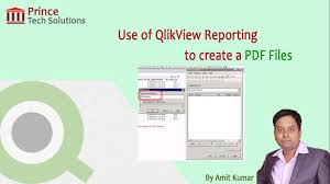 tutorial qlikview pdf qlikview tutorial use of qlikview reporting to create a pdf files