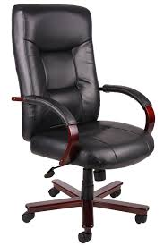 high back leather office chair good furniture net