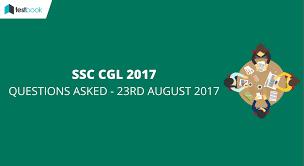 ssc cgl 2017 ssc cgl admit card results u0026 syllabus online