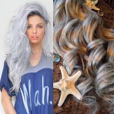 mermaid hair extensions hair extensions opal hair silver hair grey hair platinum