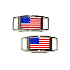 amazon com american flag usa shoe sneaker shoelace charm