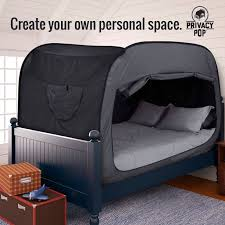 the privacy bed tent newest invention for a good night s sleep 25 best ideas about bed tent on pinterest 3 room tent bed privacy
