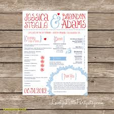 wedding programs printable inspirational free printable wedding program templates best