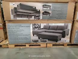 Costco Sectional Sofa by Chaise Sofa With Storage Ottoman