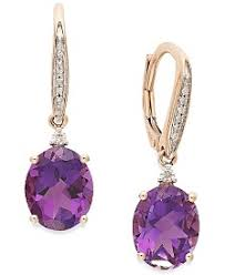 purple drop earrings purple drop earrings shop drop earrings macy s