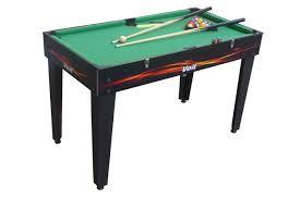 4 in 1 pool table amazon com voit 4 in 1 table game foosball air hockey pool