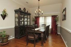 two tone dining table set two tone dining room together with 4 dark brown stained teak armless