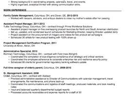 administrative assistant objective samples images sample resume