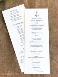 Samples Of Wedding Programs Panel Program Samples Wedding Invitations By Lolo Lincoln