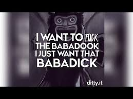 I Want To Fuck Meme - i want to fuck the babadook youtube