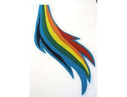 Rainbow Dash Halloween Costume Pony Rainbow Dash Tail
