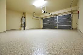flooring concrete floor for garage design with light beige wall