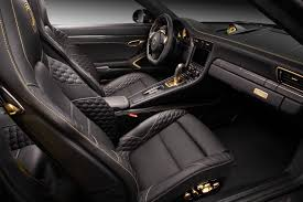 porsche 911 turbo s interior porsche 991 stinger gtr carbon edition topcar