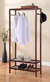 coat rack with shelf foter