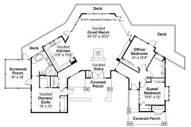 mountain lodge floor plans modern lodge style house plan grand river 30 754 flr1 plans rocky