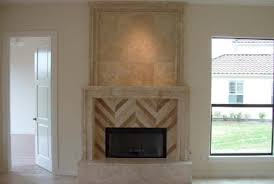 Travertine Fireplace Hearth - custom travertine fireplaces traditional living room nativefoodways