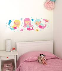 mermaid wall decals roselawnlutheran forwalls mermaids removable wall decal stickers