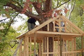 free easy simple tree house fort plans worlds highest antique