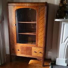 Antique German Display Cabinet Antique And Vintage Cabinets Collectors Weekly