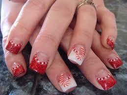 christmas nail art designs u2013 acrylic nail designs