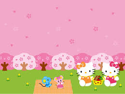 hello kitty summer wallpapers wallpaper wallpaper hd