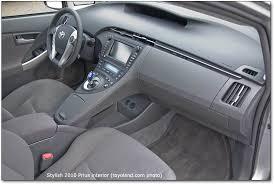 Interior Of Toyota Prius 2010 Toyota Prius Iii Car Reviews