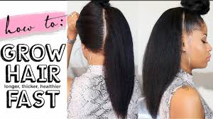 healthy hair fir 7 yr how to grow hair long thick healthy fast 4 easy steps youtube