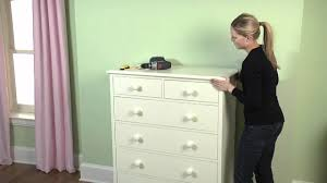 how to secure your large furniture to the wall to ensure safety