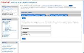 configuring virtual host with oracle weblogic server