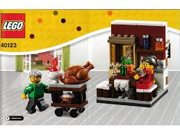 thanksgiving legos bricklink set 40123 1 lego thanksgiving feast