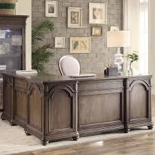 three posts nesbitt executive desk with return u0026 reviews wayfair