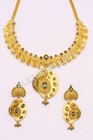 yellow gold necklace sets images Gold forming necklace sets exporter manufacturer distributor jpg