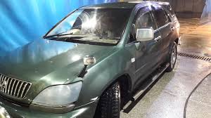 toyota lexus harrier 1998 мойка u2014 logbook toyota harrier 1998 on drive2