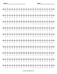 Fraction Worksheets Grade 5 Math Subtraction Number Line Worksheet Grade 4 Fraction