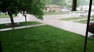severe weather and large hail hits the omaha metro area youtube