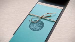Islamic Wedding Card The Need To Design The Perfect Muslim Wedding Cards For A Marriage