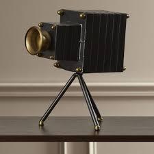 home decor photography accessories decorative standing camera ornament photographer home