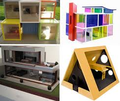 Free Miniature Dollhouse Plans by Playful Minitecture 15 Ultra Modern Dollhouse Designs Urbanist