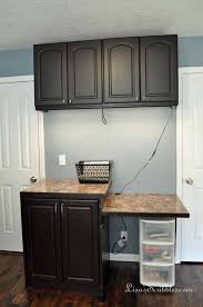 Painting Pressboard Kitchen Cabinets Staining Laminate Yes It Can Be Done Hometalk