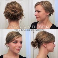 hair buns 11 diy bun tutorial for mediun to hair