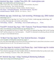 android commercial spyware securelist