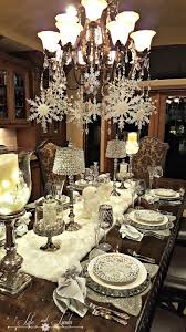 snowflakes and baubles tablescape linda blog blog designs and