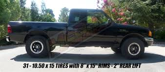 ford ranger with a lift kit 1998 2011 ford ranger mazda b2500 b3000 b4000 2wd 3