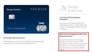how to get the 450 annual fee waived on morgan stanley american