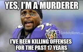 Ray Lewis Memes - i m not laughing at the text on this pic i am laughing because his