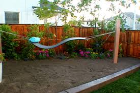 Backyard Slackline Without Trees Backyard Hammock Without Trees Home Outdoor Decoration