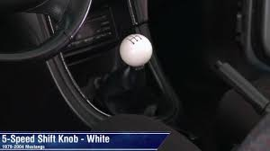 mustang retro style 5 speed shift knob 79 04 all review youtube