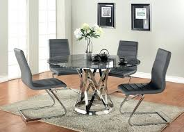Dining Room Table And Chair Set Black Dining Room Table Chairs Set Marble Top Metal Base By And