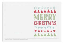 printable christmas card festive symbols